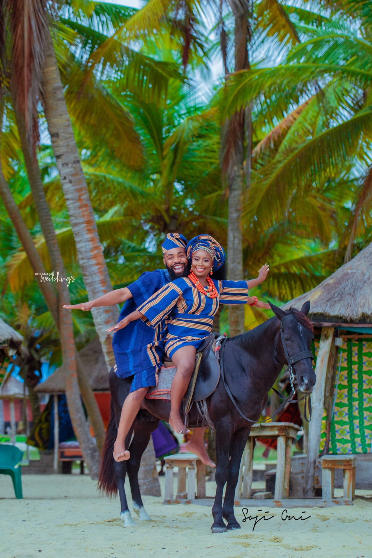 Woli Arole & Yemi's Pre-wedding Shoot is Giving Us That Vintage Feel
