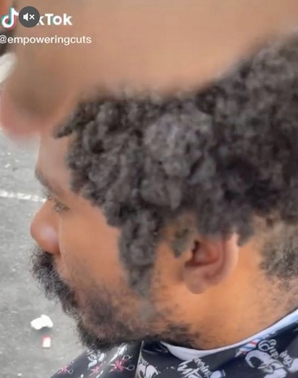 Homeless man transformed with free haircut